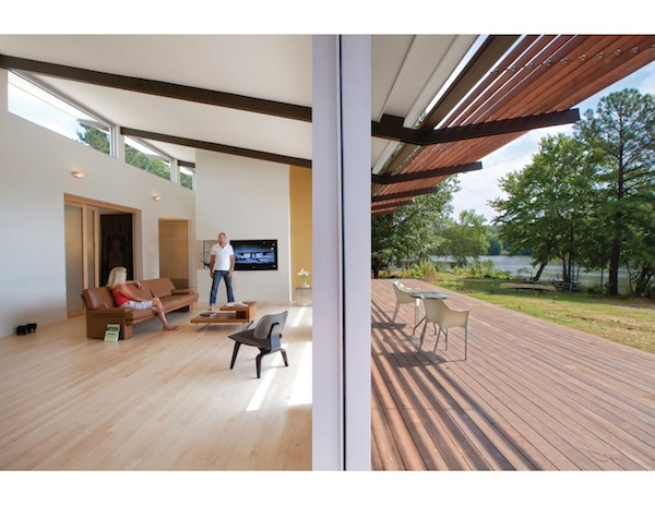 The Smart-Stell House (photo by Todd Lanning)