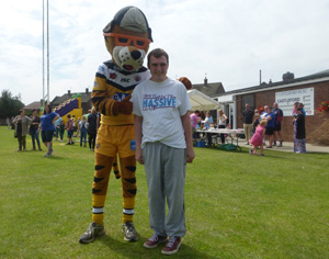 The sports day at Castleford RUFC.