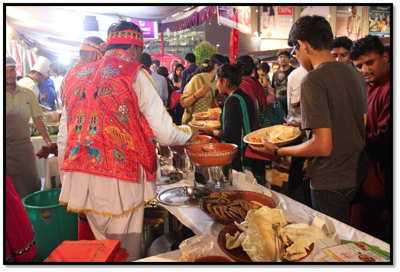 Unique Street Food Festival at AlphaOne, Ahmedabad
