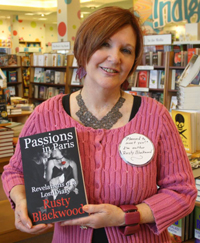 Romantic fiction author Rustty Blackwood