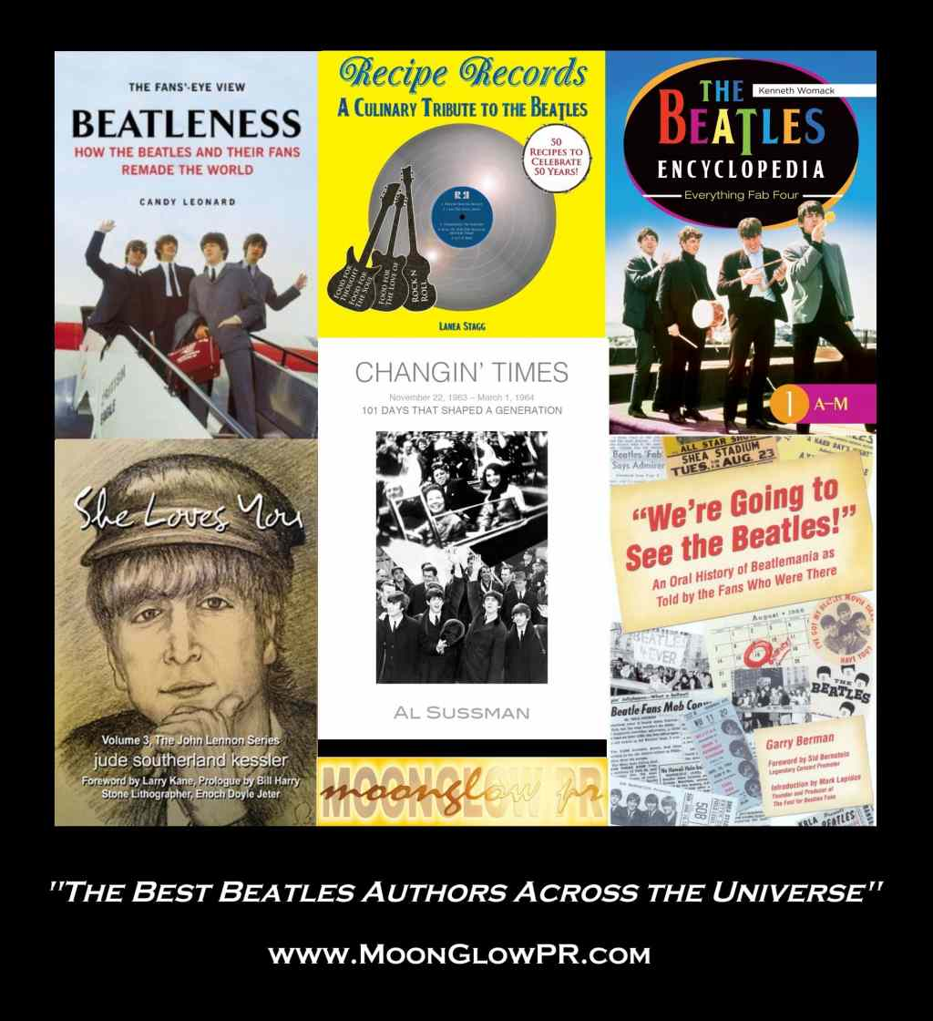 MoonGlow PR - Representing the Best Beatles Authors Across the Universe!