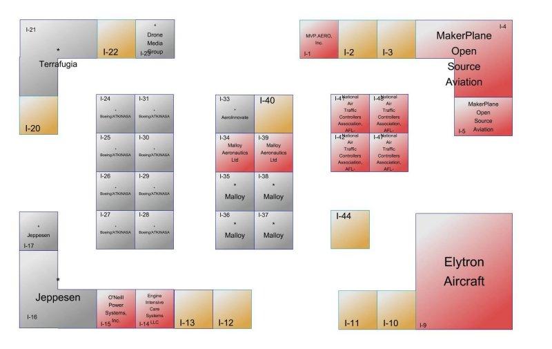 EAA Innovation center floorplan