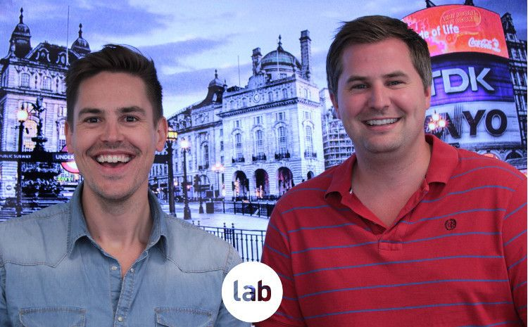 Lab founders, director Tom Head and managing director Jonny Tooze