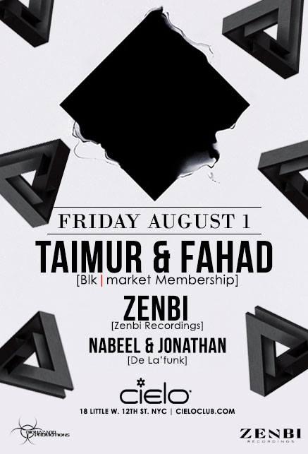 Taimur and Fahad at Cielo