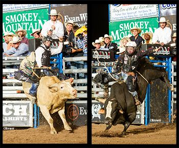 Kimzey and Benton Duke It Out on the Final Road in Cheyenne
