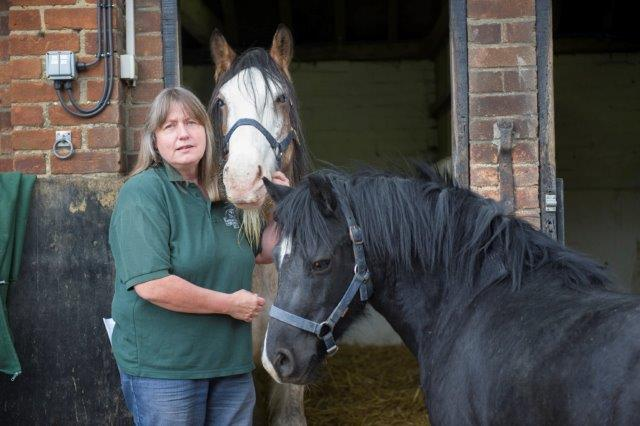 Sue Burton of Remus Horse Sanctuary sml
