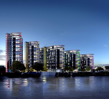 Riverlight in Nine Elms on London's South Bank chooses Remeha boilers