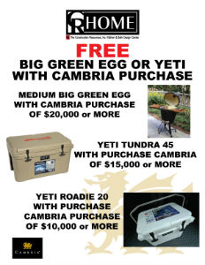 Cambria Promotion