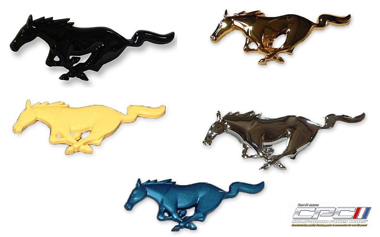 California Pony Cars running horse emblem