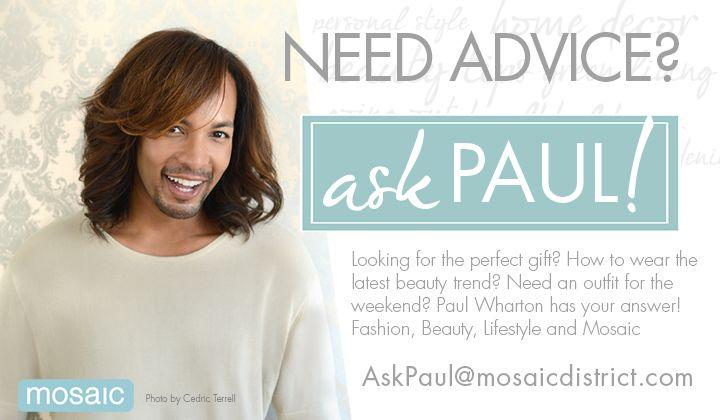 Paul Wharton - Ask Paul at Mosaic District