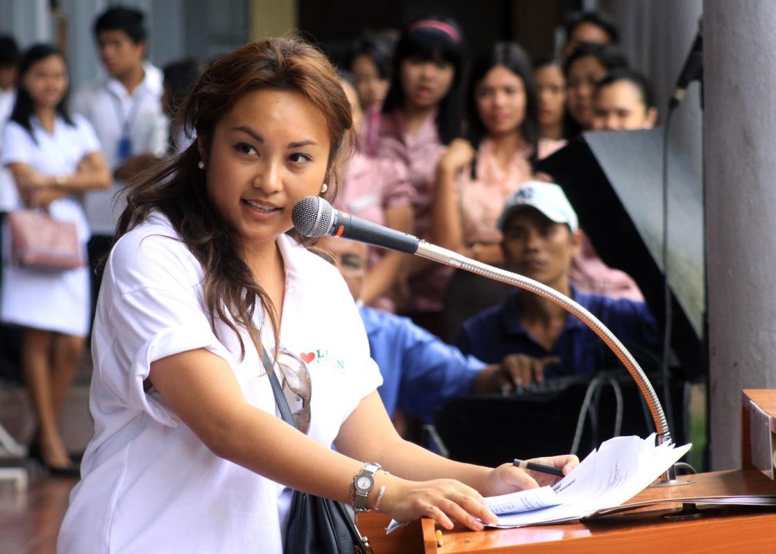 Women In Green Forum Youth Trailblazer Awardee, Esperanza Garcia