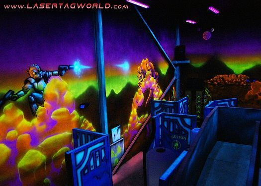 Creative Works Designs Custom Laser tag Arenas with Any Theme
