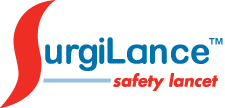 SurgiLance™ Safety Lancets logo