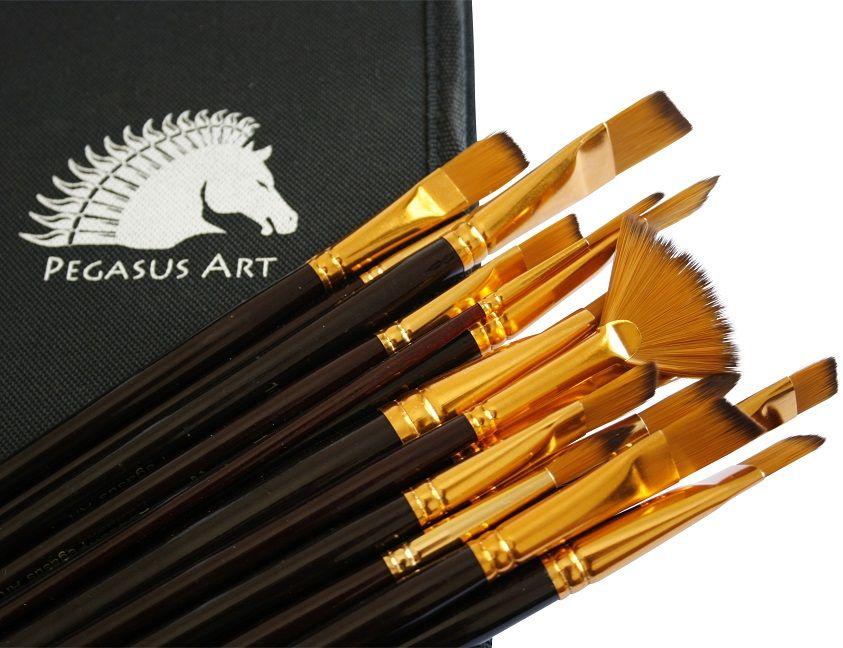 Pegasus Art Paint Brush Set on Etsy.com