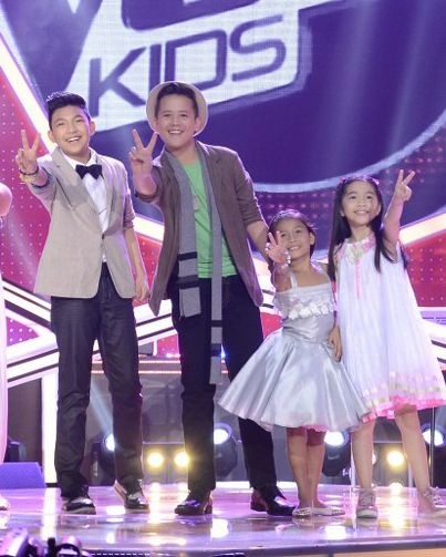 The Voice Kids FINAL 4 DARREN, JUAN KARLOS, LYCA,
