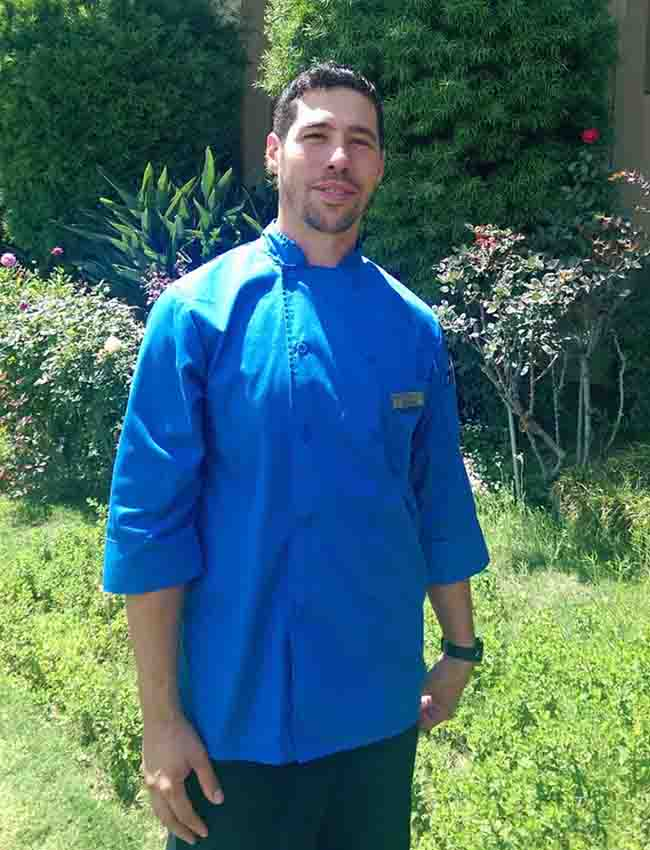Adrian Mora, new head chef at Pierpont Inn
