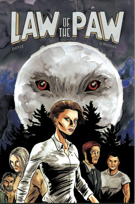 Law of the Paw Comic Book Cover
