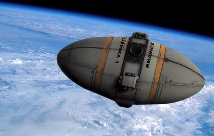 Babinka-Class Space Debris Cleanup Module  Dr. Joseph A. Resnick, Inventor