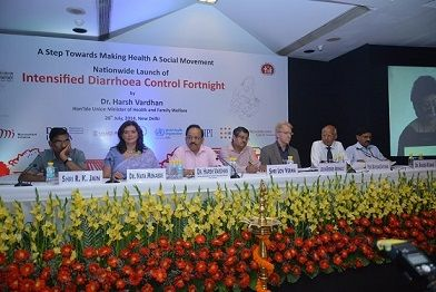 Hon'ble Union Minister Dr. Harsh Vardhan at the launch of IDCF