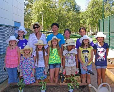 Simi Boys & Girls Club gardening club