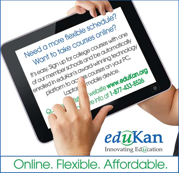 eduKan Provides Affordable College Courses Online - No Tuition Hikes for 2014-15