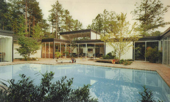 1969 rendering of the Cogswell house.