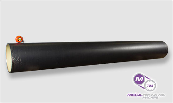 large anilox carbon fiber sleeves - MECA