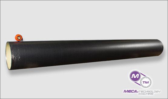 large anilox carbon fiber sleeves - MECA