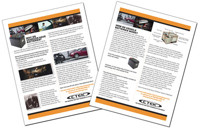 CTEK introduces a series of educational articles on battery maintenance