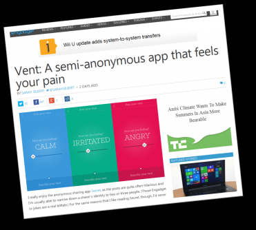 Vent in Engadget