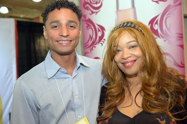 Reuben Canada and Erica Collins at Specialty Food Association sofi 2014