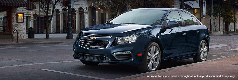 2015 Chevrolet Cruze Reveal