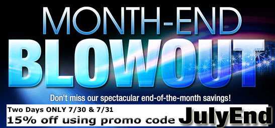 July Blowout Sale 2014