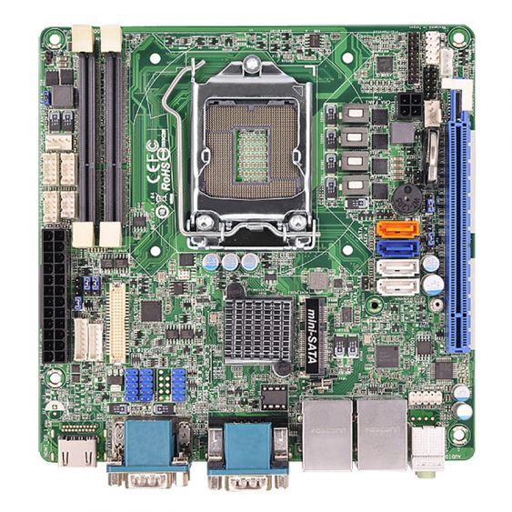4th Generation Intel® Core™ i7/ i5/ i3/ Celeron® Mini-ITX SBC - MANO881