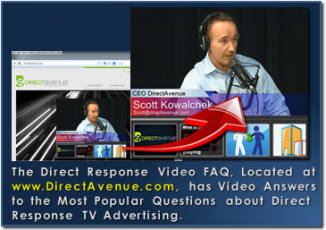 DRTV Video FAQ from DirectAvenue