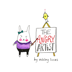 The Angry Artist by Ashley Lucas