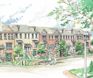 Luxury Townhomes at The Towns at East Village