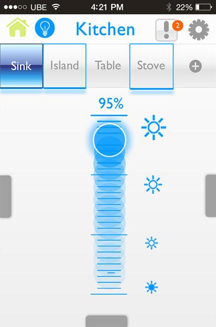 A Screenshot Taken from Plum's Smartphone App