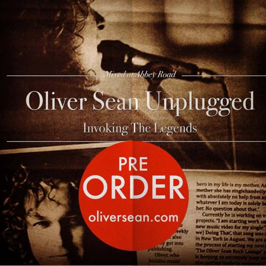 Oliver Sean Unplugged - Invoking Legends