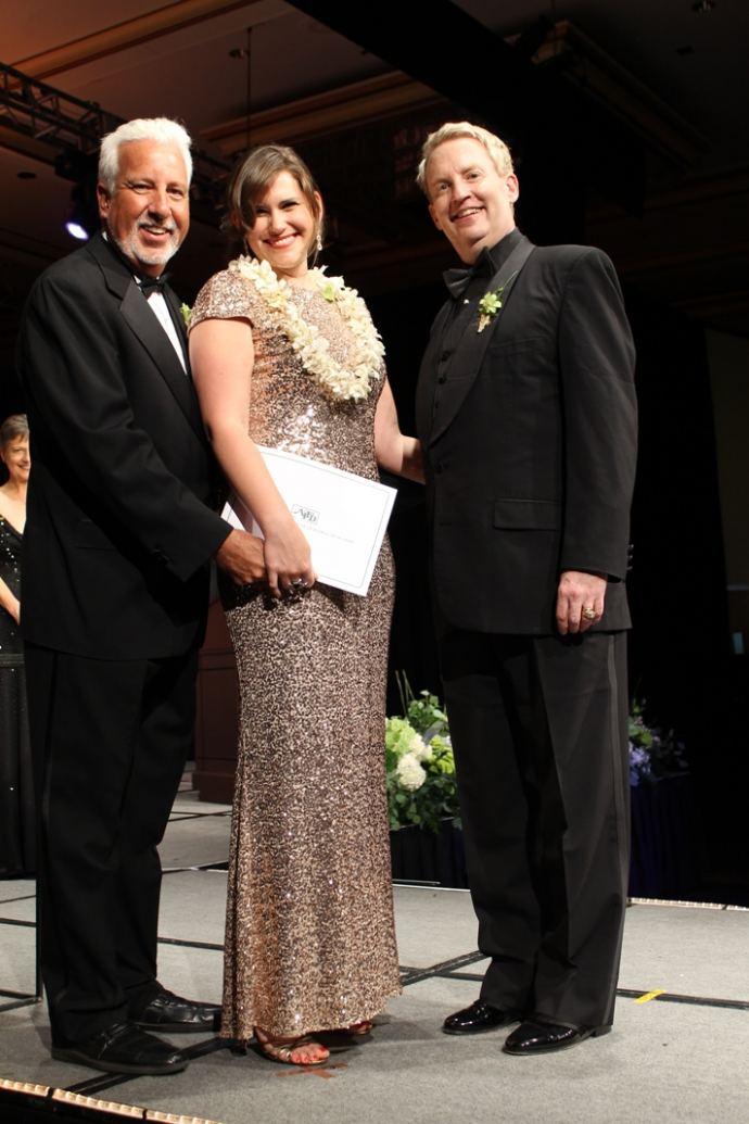 Callie DeWolf AIFD Induction Ceremony