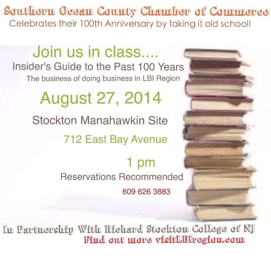 Southern Ocean County Chamber 100 Years Insider Guide