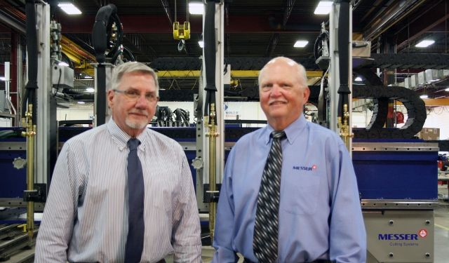 New CEO Bill Heller and Retiring CEO Gary Norville