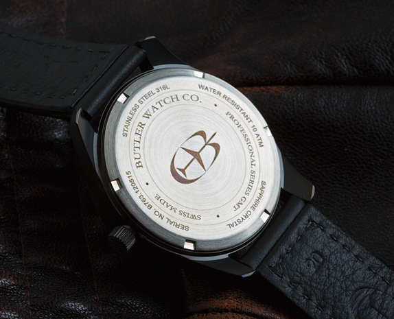Butler Professional Series GMT caseback