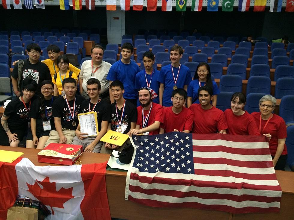 2014 International Linguistics Olympiad NACLO USA Red, Blue & Canada Teams