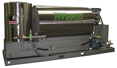 Hybrid Water Heater for Concrete Plants