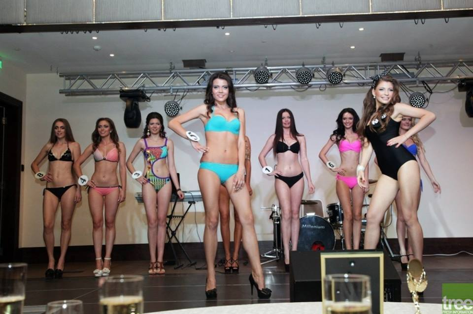 Beautiful Ukrainian Girls at the model contest in Kharkiv