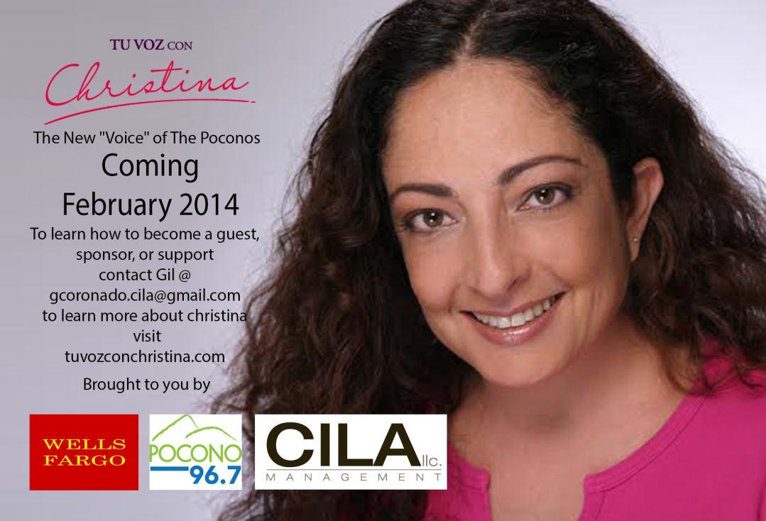 "Christina Luna of ""Tu Voz con Christina"""