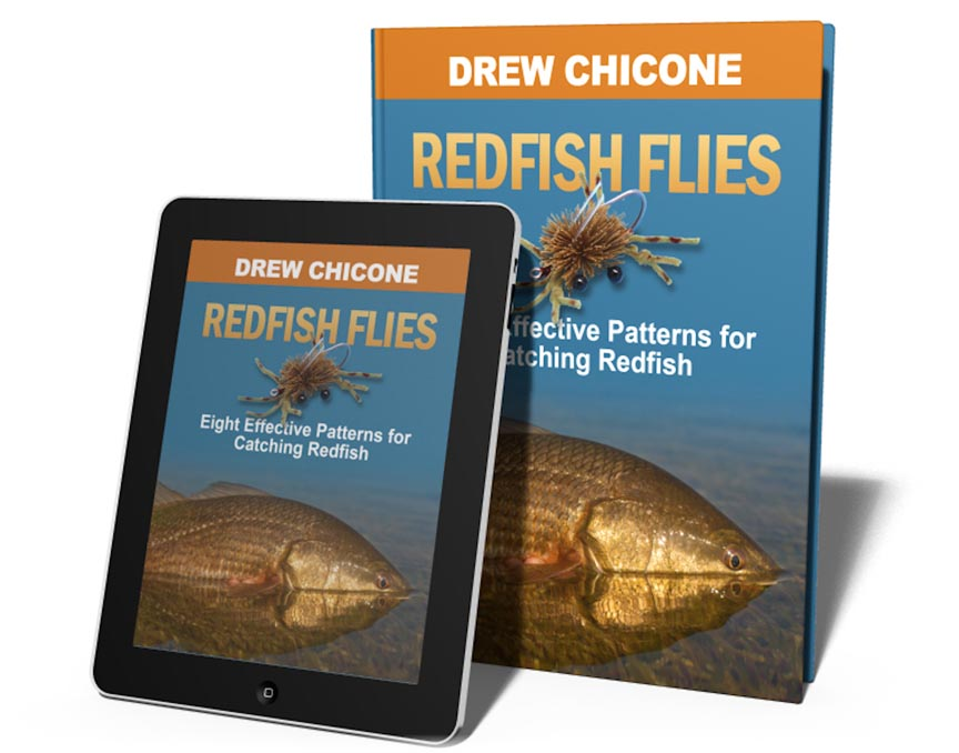 Redfish Flies, by Drew Chicone