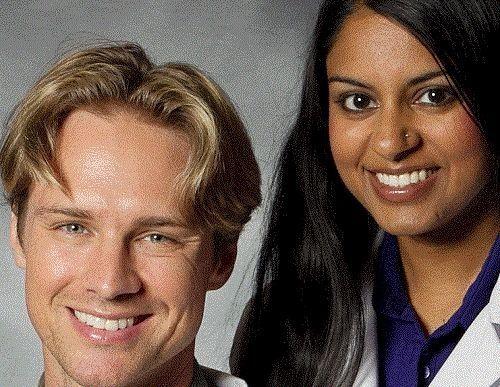 Dr. Nathan Schramm, OD, CNS and Dr. Julie Abraham, OD of Natural Eyes of Weston
