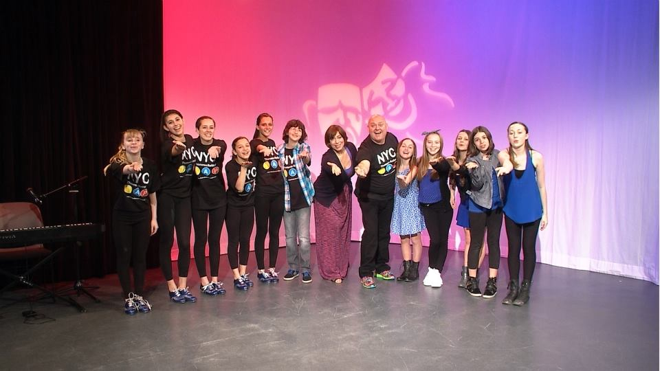 Thommie Retter and His Students Along with Host Ginger Broderick